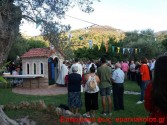 ΣΤΑ ΠΑΛΑΙΑ ΡΟΥΜΑΤΑ – Μεγάλο το πανηγύρι στο μικρό εκκλησάκι του Αγίου Ευτυχούς