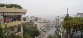 Αύγουστος με ομίχλη, βροχή, βροντές και στα Χανιά