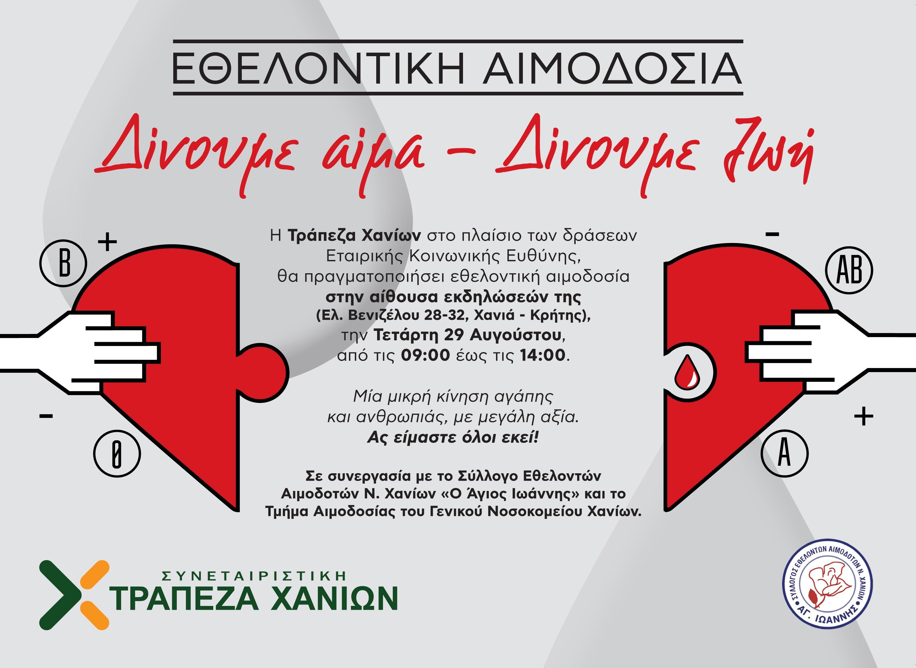 ETHELONTIKH AIMODOSIA
