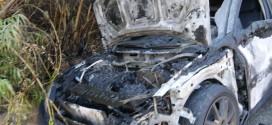Παρανάλωμα του πυρός ένα Ι.Χ.Ε. όχημα στην εθνική οδό