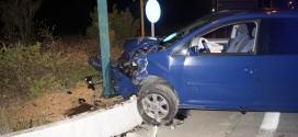 Σφοδρή πλαγιομετωπική σύγκρουση οχημάτων στις Μουρνιές Χανίων