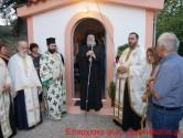ΣΤΟΝ ΒΑΤΟΥΔΙΑΡΗ – Με αρκετούς προσκυνητές ο πανηγυρικός εσπερινός στο εξωκλήσι της Παναγίας