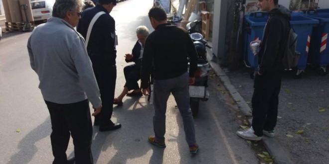 Τροχαίο με τραυματισμό και εγκατάλειψη σε κεντρική οδό των Χανίων
