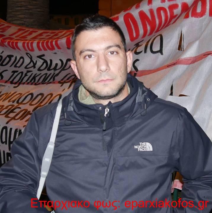 7 Νίκος Χαρτζουλάκης μέλος του ΚΚΕ μλ στην Αγορά
