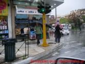 Στιγμιότυπα με βροχή και αέρα στα Χανιά