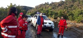 Στην κακοκαιρία έδωσαν το «παρών» για βοήθεια εθελοντές Σαμαρείτες του Ερυθρού Σταυρού