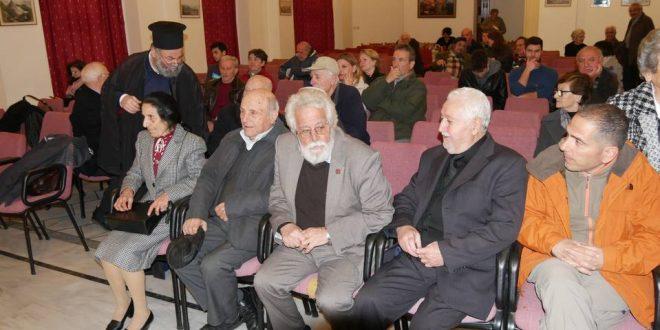 Παρουσιάστηκαν τα βιβλία της ποιήτριας Ελισάβετ Διαμαντάκη- Κωνσταντουδάκη