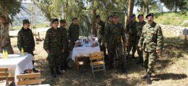 Σε ώρα στρατιωτικής εκπαίδευσης απαγορεύονται οι επιπολαιότητες…