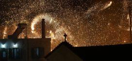 Φαντασμαγορική Ανάσταση στον Άγιο Γεώργιο Κισάμου (Και βίντεο)