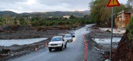 ΣΤΟΝ ΚΕΡΙΤΗ – Κανονικά συνεχίζεται η κυκλοφορία με την πρόχειρη γέφυρα (Και βίντεο)