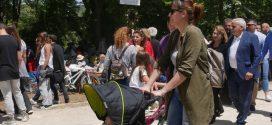 Εκατοντάδες Χανιώτες και πολλοί ξένοι απόλαυσαν την Πρωτομαγιά στη λίμνη της Αγιάς (Και βίντεο)