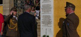 Αποκαλυπτήρια αναμνηστικής πλάκας στη μνήμη του Προξένου, Ιουλίου Πίντερ (Και βίντεο)