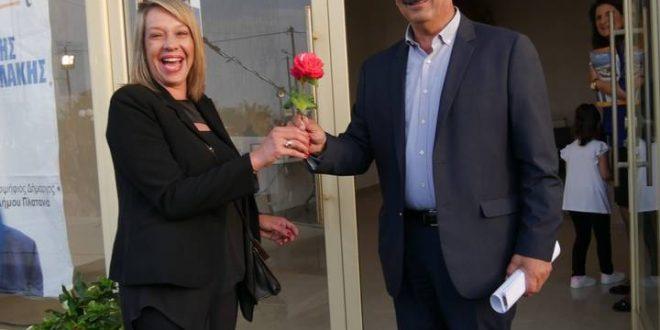 Παρουσιάστηκε ο συνδυασμός του υποψήφιου δημάρχου Πλατανιά Μανώλη Ντουντουλάκη
