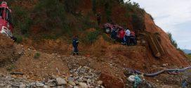 Τροχαίο δυστύχημα με Ι.Χ.Ε. που έπεσε από τη γέφυρα του Ταυρωνίτη (Και βίντεο)