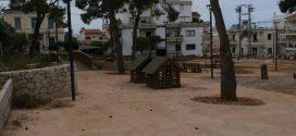 Μια νέα παιδική χαρά ομόρφυνε το… εγκαταλειμμένο πάρκο…