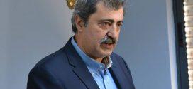 Διαφημιστική ενημέρωση υποψήφιου βουλευτή ΣΥΡΙΖΑ Χανίων Παύλου Πολάκη