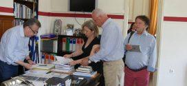 ΣΤΑ ΧΑΝΙΑ – Υπογραφή σύμβασης του Περιφερειάρχη Κρήτης για αντιπλημμυρικά έργα