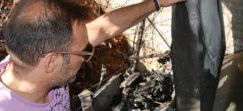 Σοβαρές υλικές ζημιές σε τρία αυτοκίνητα από πυρκαγιά στα Λενταριανά