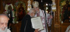 Με λαμπρότητα εορτάσθηκε η Αγία Ειρήνη Χρυσοβαλάντου, ενώ  τιμήθηκε ο εφημέριος… (Και βίντεο)