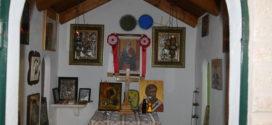 Εκατοντάδες πανηγυριώτες στο μικρό εκκλησάκι του Αγίου Ευτυχούς Παλαιών Ρουμάτων