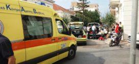 Σοβαρός τραυματισμός δικυκλιστή σε τροχαίο στα Χανιά