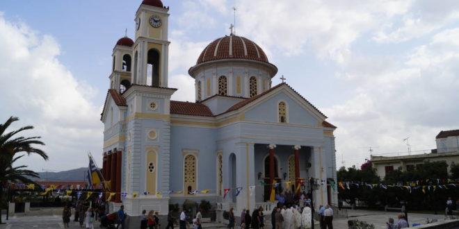 Γιορτάστηκε ο Ιερός Ναός Τιμίου Σταυρού Αλικιανού (Και βίντεο)