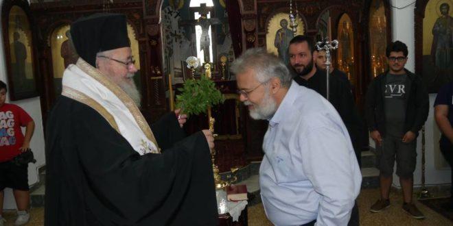 Αγιασμός στην Πατριαρχική Εκκλησιαστική Σχολή Κρήτης ( Και βίντεο)