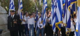 Τιμήθηκε η μνήμη των πεσόντων από μαθητές και προσκόπους στα Χανιά