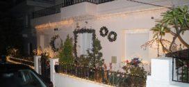 Η πρώτη στολισμένη οικία στα Χανιά στο πνεύμα των Χριστουγέννων