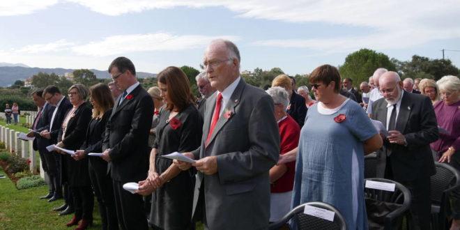 Τιμή και μνήμη στους πεσόντες στο Συμμαχικό Νεκροταφείο Σούδας