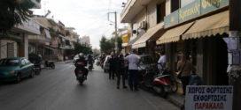 Επικίνδυνο τροχαίο ατύχημα χωρίς τραυματισμούς στην οδό Σελίνου