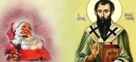 Ο αληθινός άγιος Βασίλειος δεν έχει καμιά σχέση με τον ψεύτικο…