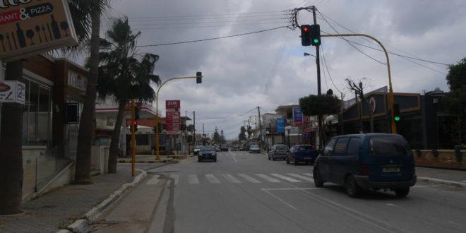 Προβλήματα με τους δρόμους στην Αγία Μαρίνα