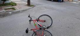 Τροχαίο ατύχημα με τραυματισμό ποδηλάτη στα Χανιά