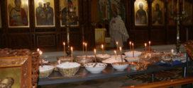 Ψυχοσάββατο σε εκκλησιές και μοναστήρια