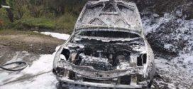 Παρανάλωμα του πυρός Ι.Χ. επιβατικό όχημα στον Πρασέ