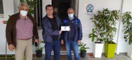 Μάσκες σε αστυνομικό προσωπικό από την Διεθνή Ένωση Αστυνομικών