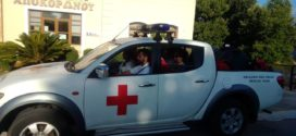 Σαμαρείτες του Ερυθρού Σταυρού Χανίων οργώνουν την ύπαιθρο για αντιπυρική προστασία