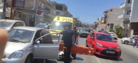 Τροχαίο ατύχημα επί της οδού Κισάμου