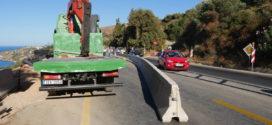 Ταλαιπωρία στην εθνική οδό Χανίων – Ρεθύμνου