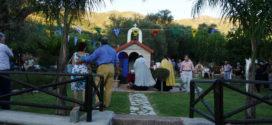 Πανηγυρικός εσπερινός στο μικρό εκκλησάκι του Αγίου Ευτυχούς στα Παλαιά Ρούματα