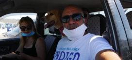 Αυτοκινητοπομπή εκατοντάδων φιλόζωων σε κεντρικούς δρόμους των Χανίων διαμαρτυρόμενοι για την κακοποίηση ζώων (Και βίντεο)