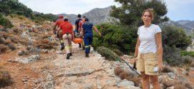 Διάσωση αλλοδαπής που τραυματίστηκε στο φαράγγι Αυλάκι Ακρωτηρίου