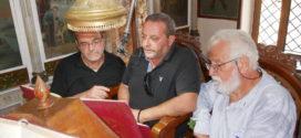 Πανηγυρικός εσπερινός Τιμίου Σταυρού στο Νίππος Αποκορώνου