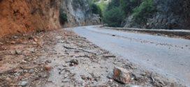 Φθινοπωρινές κατολισθήσεις στον δρόμο για τον Θέρισο