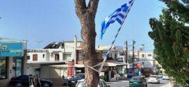Δεν είναι η θέση της σημαίας πάνω σε δένδρα…