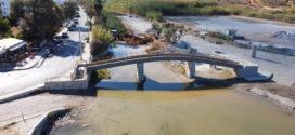 Προέκταση γέφυρας στην εκβολή του Κλαδισού ποταμού (Και βίντεο)