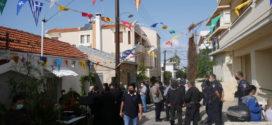 Η αστυνομία στο μικρό εκκλησάκι της οδού Μουρνιδών… ( Και βίντεο)