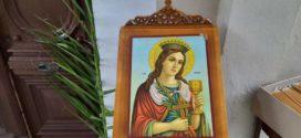 Με κλειστές πόρτες η πανηγυρική Θεία Λειτουργία της Αγίας Βαρβάρας (Και βίντεο)