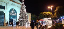 Άναψε το βράδυ της Τετάρτης το Χριστουγεννιάτικο δέντρο στη δημοτική Αγορά Χανίων